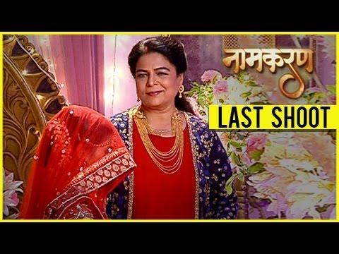 Reema Lagoo Last Shoot | Naamkaran's LAST EPISODE With Reema Lagoo | TellyMasala thumbnail