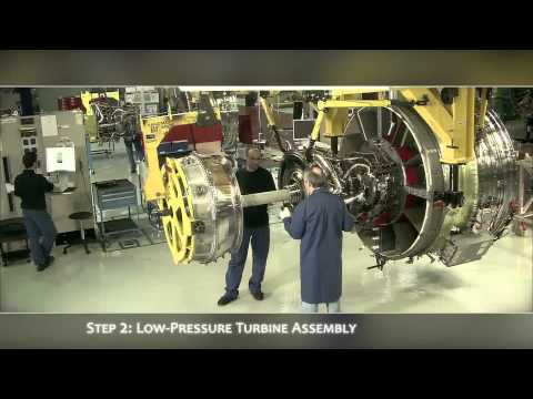 CFM56 Engine Assembly Line