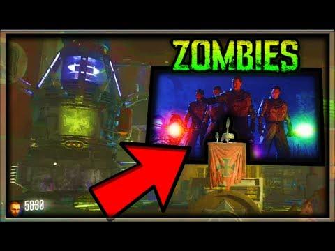 """""""KINO DER TOTEN"""" SECRET REEL CUTSCENE EASTER EGG GUIDE! Black Ops 3 Zombie Chronicles Kino Der Toten"""