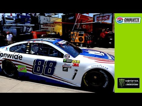 Dale Jr. reacts to top-10 finish at Charlotte