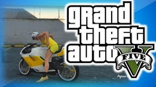 GTA 5 Online High Life DLC Funny Moments! - Banana Man, Car Horn Orchestra, Air Thrusting Glitch!