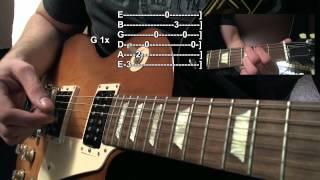 Behind Blue Eyes [Guitar Lesson/Gitarren Tutorial] by SoundElement T#01