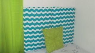 Diy Home Decor: Diy Upholstered Headboard