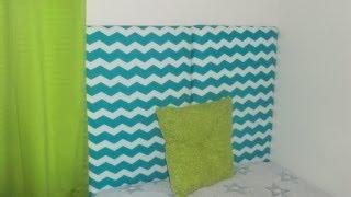 Diy Home Decor: Diy Upholstered Headboard