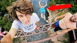 Crazy Bridge Jumping | 4K