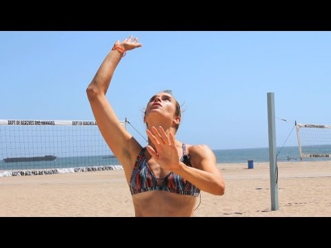 How to Spike a Volleyball   Volleyball Lessons