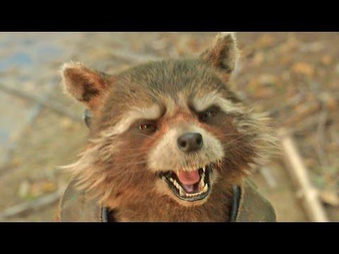 Trash Panda! Guardians of the Galaxy Vol. 2   FIRST LOOK  2017