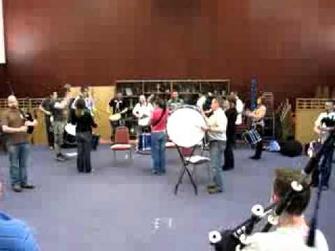 Strathclyde Police Pipe Band - Donald Cameron MSR