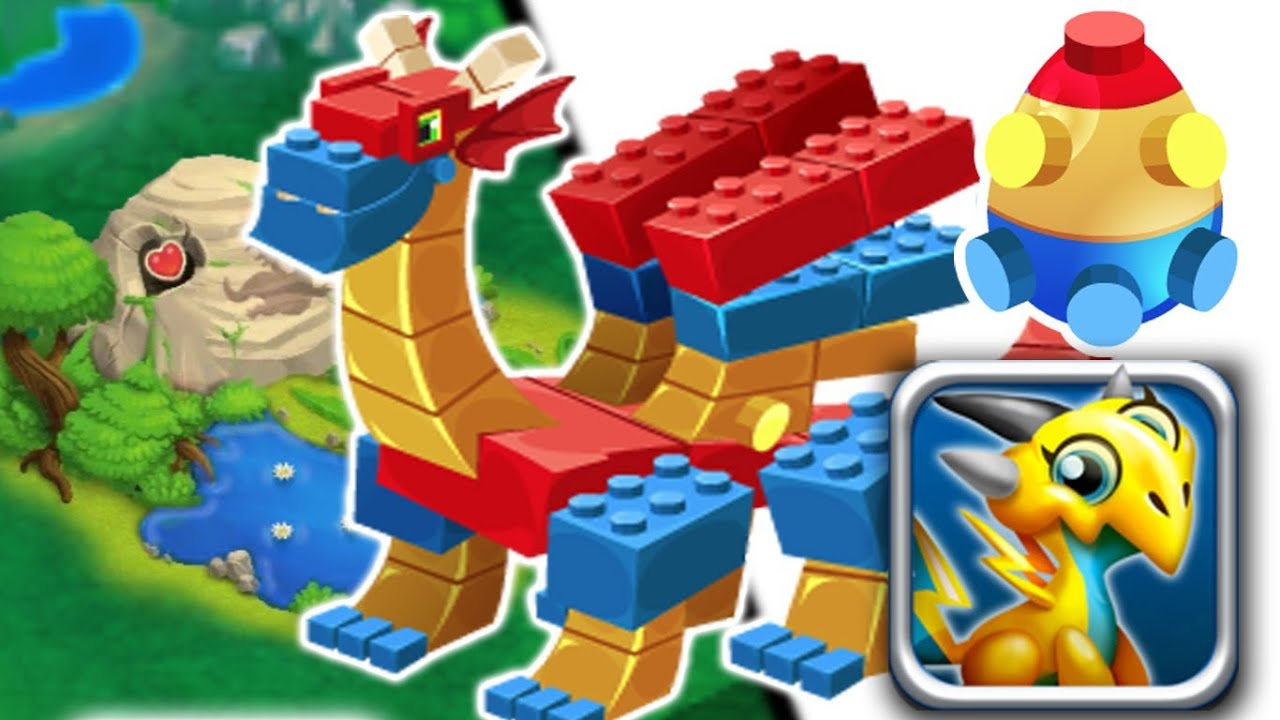 how to get lego dragon in dragon city