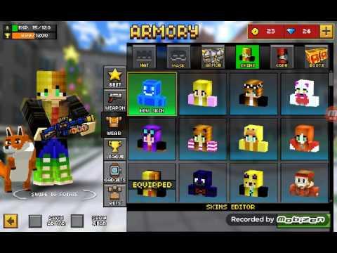 Minecraft Spielen Deutsch Skins Para Minecraft Pe Foxy Bild - Foxy skins fur minecraft