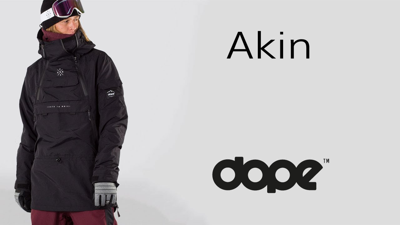 04d83010e230 DOPE AKIN - Snowboard Jacket - YouTube