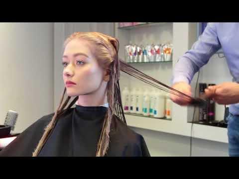 Kaaral процедура  Vita Termale. Глубокое восстановление волос.(полная версия)
