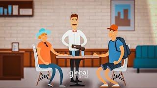 Glabal Menu - animációs bemutatófilm