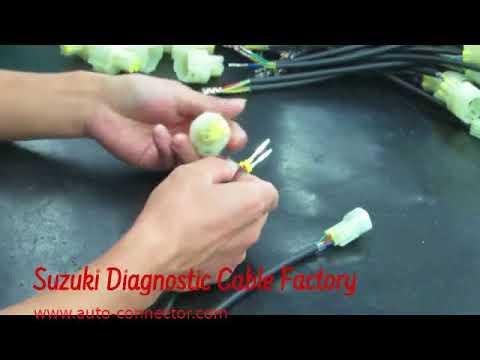 suzuki cable harness, 09933-19880, marine diagnostic, outboard engine  diagnostic cable