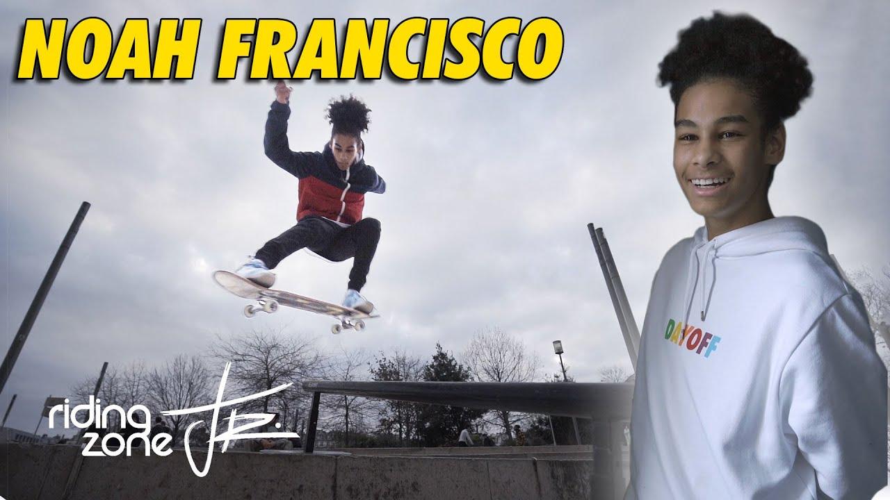 Noah Francisco, prodige du skate à seulement 14 ans !