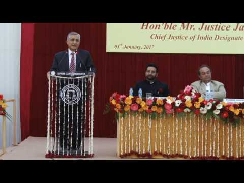 Farewell function of Hon'ble Mr. Justice T.S. Thakur, Chief Justice of India (Part 4 of 5 )