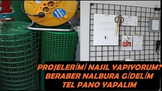 Beraber Nalbura Gİdelİm Ucuz Tel Pano Yapalim/