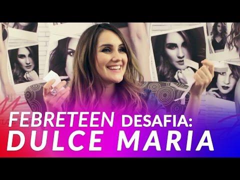 Retos para Dulce María - Febre Teen Brasil