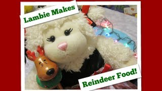 #245: Lambie Makes Reindeer Food! - Lambcam