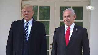 President Trump Delivers Remarks at the Colonnade with the Prime Minister of the State of Israel
