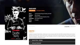 Assistir Death Note Online Dublado - http://iloveseries.org/filme/death-note/