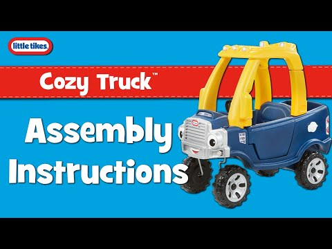 Cozy Truck New Eyes Little Tikes Embly Instructions Video