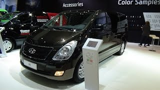 2017 Hyundai H1 People Executive Exterior and Interior Auto Show Brussels 2017