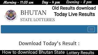 How To Download Today Result Old Result 11 55 Am