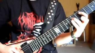 Eisregen - Elektrohexe (guitar cover)