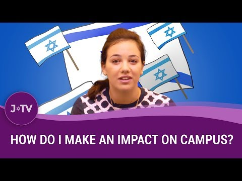 How do I make an impact on campus?