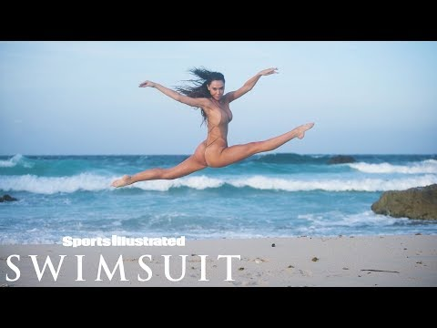 Alexis Ren Faces A Big Challenge | CANDIDS | Sports Illustrated Swimsuit