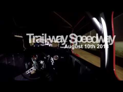 Legends Cars at Trail-Way Speedway 8-8-2018