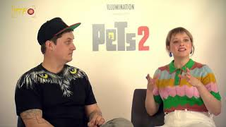 Pets 2: Interview mit LeFloid und Jella Haase