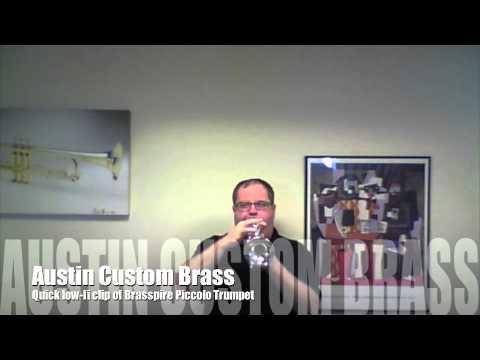 Low Fi clip of the Brasspire Piccolo Trumpet