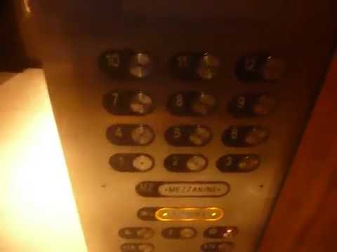 Westinghouse Traction Elevators At The Westin Washington D.C City Center In Washington D.C