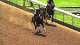 Derby favorite Nyquist works at Keeneland April 29