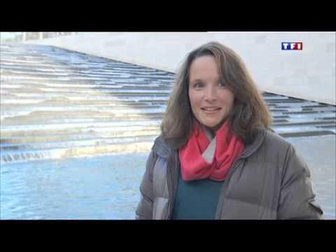 Hélène Grimaud au JT de TF1