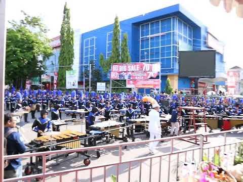 MARCHING BAND BONTANG PKT [PART 1] - @BONTANG CITY CARNAVAL 2017