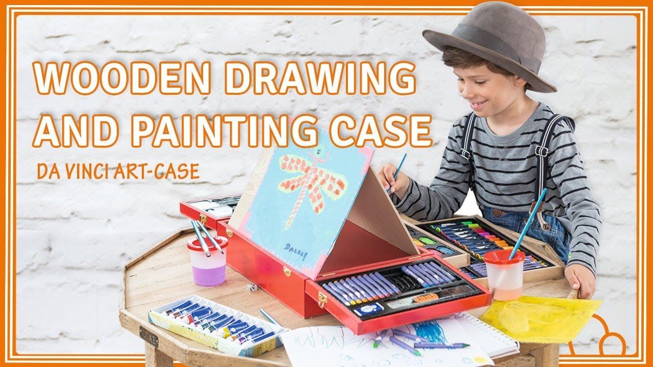 <b>Набор для рисования</b>, деревянный Da Vinci Art-case