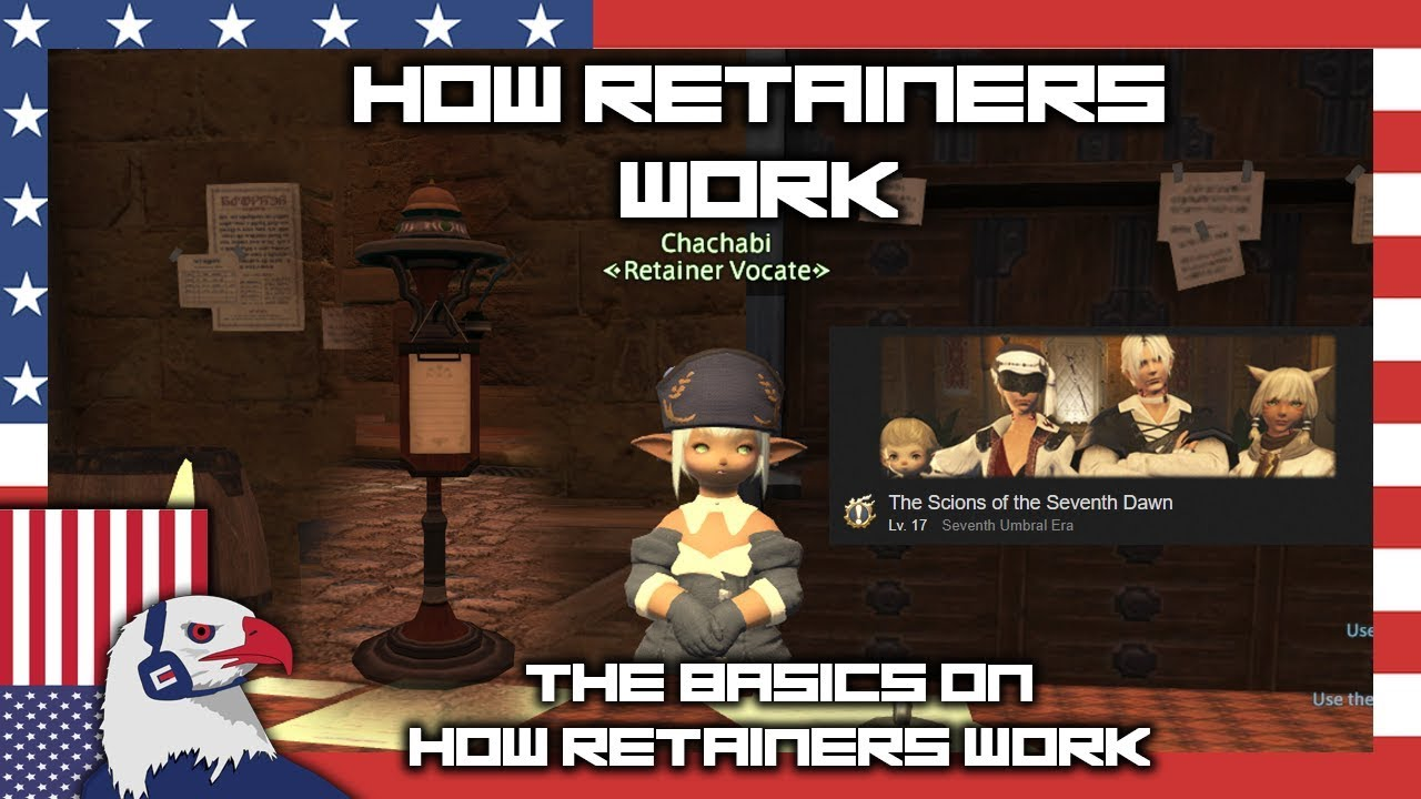 how retainers work ffxiv