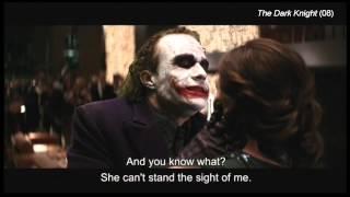 "The Dark Knight (clip10) ""We're tonight entertainment"""