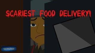 Scary Food Delivery Story (Animated in Hindi)