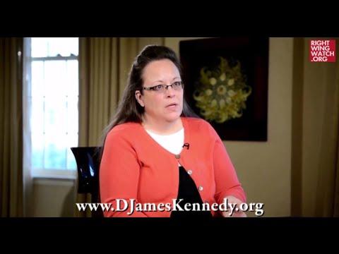 VIDEO: Anti-Gay Bigot Kim Davis Attempts to Be a Legal Scholar