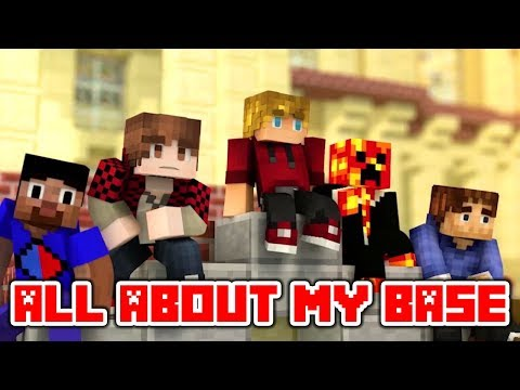 "Minecraft Song Videos ""All About My Base"" Minecraft Parody All About That Bass By Meghan Trainor"