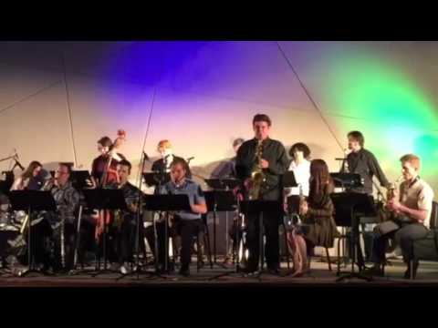 Paradise Valley Community College Big Band -Phoenix AZ Max Bartlett alto saxophone