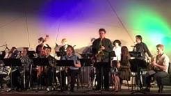 Paradise Valley Community College Big Band -Phoenix AZ Max Bartlett alto saxophone
