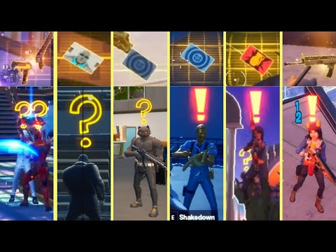 All Bosses, Mythic Weapons & Vault Locations Guide (Fortnite Chapter 2 Season 2 )!