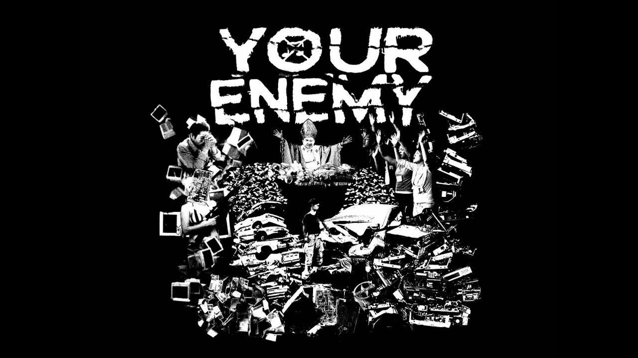 Trust your teammates and fuck the enemy poster