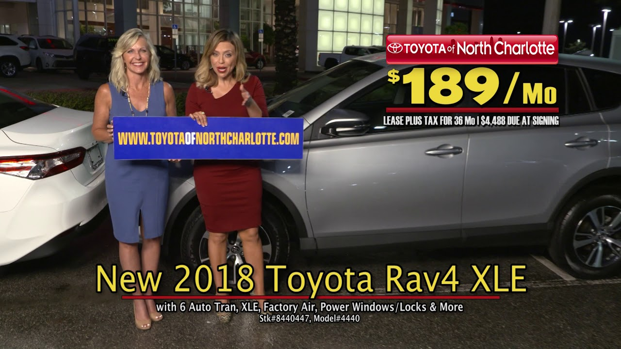 Spend Fall In A New Toyota RAV4 And Lower Your Payment! Toyota Of North  Charlotte
