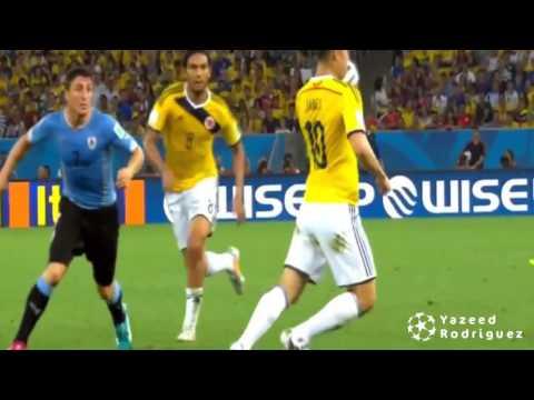 James Rodriguez goal vs Uruguay ● with 16 worldwide commentator
